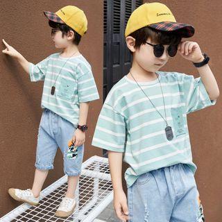 PAM - 小童短袖条纹T裇