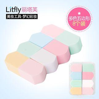 Litfly麗塔芙 - 化妝棉 (8件)
