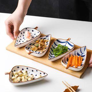 Kawa Simaya - Printed Ceramic Leaf Saucer