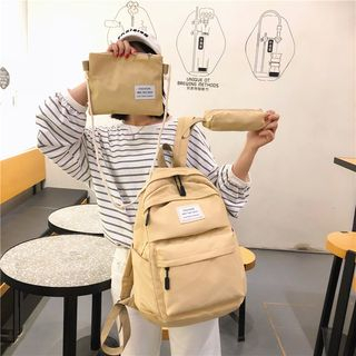 Beebird - Set: Lightweight Zip Backpack + Pouch