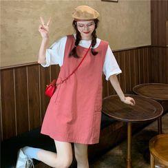 Sisyphi - Mini Shift Overall Dress
