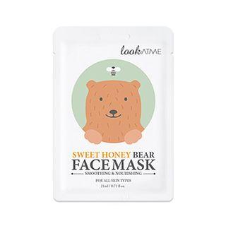 lookATME - Sweet Honey Bear Face Mask 1pc
