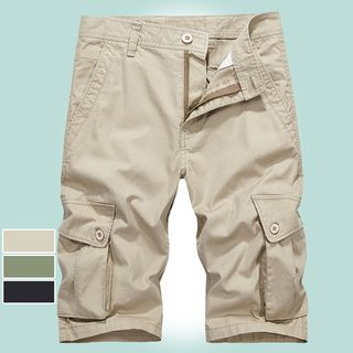 Carser - Pocket Slim-Fit Shorts