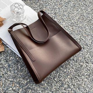 KOKOSE - Faux Leather Tote Bag