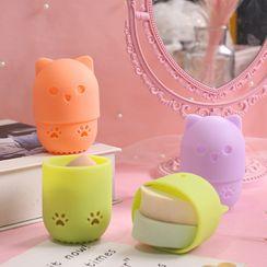 Chichat - Travel Silicone Makeup Sponge Case