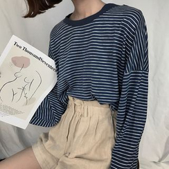 Dute - Langärmliges, gestreiftes Shirt