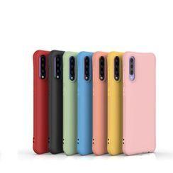 Quivier - Plain Phone Case - Samsung A50S / A50 / A30S / A70 / A750 / A7