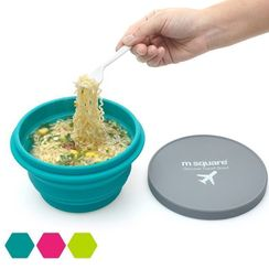 Bandify - Travel Foldable Silicone Bowl with Lid