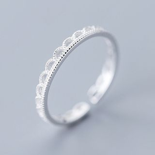 A'ROCH - 925纯银开口戒指