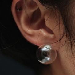 HayHill - 透明泡泡耳環