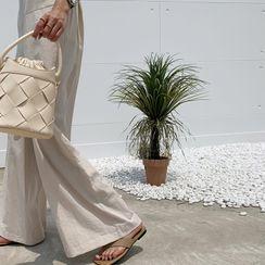 NANING9 - Woven Bucket Bag