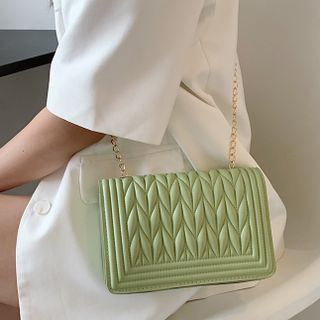 Ninorch - Quilted Flap Chain Crossbody Bag