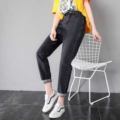Walzee - Straight-Fit Harem Jeans