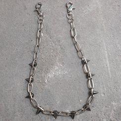 BABLIBU - 鉚釘合金褲鏈