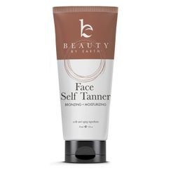 Beauty by Earth - Natural Face Self Tanner - Sunless Tanning Lotion