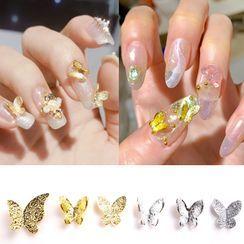 Monoe - Metal Butterfly Nail Art Decoration