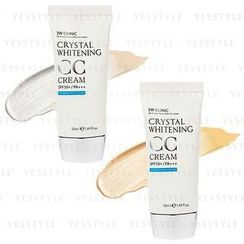 3W Clinic - Crystal Whitening CC Cream SPF 50+ PA+++ 50ml - 2 Types