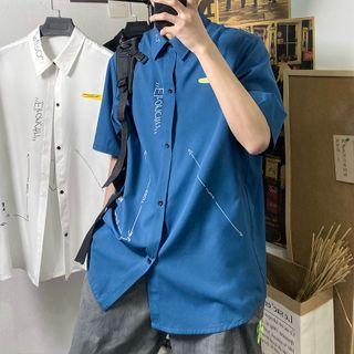 Andrei - 短袖印花襯衫