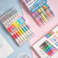 Class 302 - Set: Double-Tip Gel Pen / Highlighters