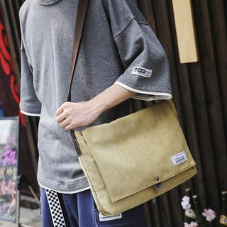 LEUCO - Lettering Messenger Bag