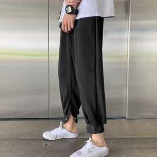 Wescosso - 純色運動束腳褲