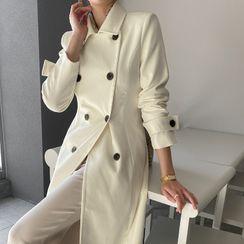 DABAGIRL - Double-Breasted Feminine Coat