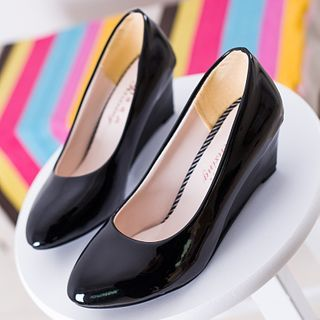 Moonlit Valley - Hidden Wedge Pumps