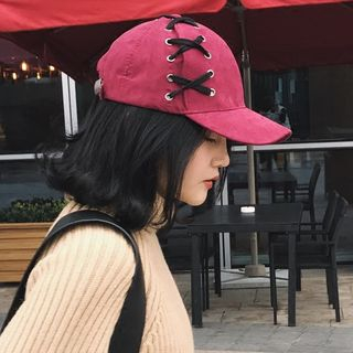 TAAK - Lace Up Baseball Cap