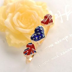 Fit-to-Kill - Double-ring Flag Ring