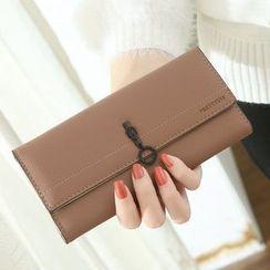 NICOLEBONNIE - Plain Long Wallet