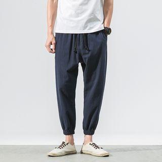 Andrei - Drawstring Harem Pants