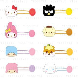 Sanrio - Mascot Pompom Elastic Hair Ties 1 pc - 12 Types