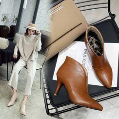 Kireina - Kitten Heel Ankle Boots