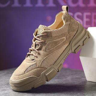 Kayne H(ケイン H) - Genuine Leather Sneakers