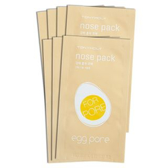 TONYMOLY 魔法森林家園 - Egg Pore Nose Pack (7pcs)