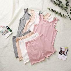RoRoRi - 小童家居服套装: 背心 + 短裤
