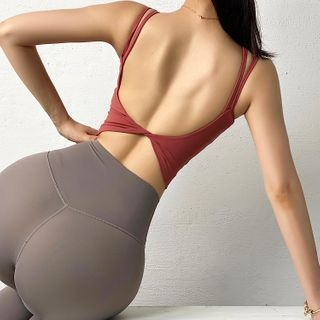 Peachgirl - Push-Up Strappy Sports Camisole Top