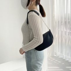 Wifky - Chain Semicircle Shoulder Bag