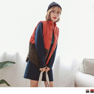 OrangeBear - Color Block Padded Vest