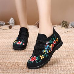 Kyotopia - Chinese Traditional Lace-Up Shoes