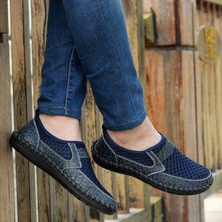 Auxen - 真皮镂空轻便鞋