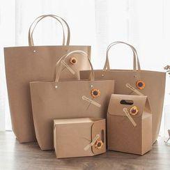 Orange Affair - 向日葵礼物纸袋 / 盒子