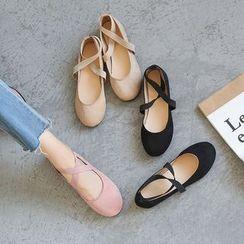 CYOS - 交叉帶舞蹈鞋