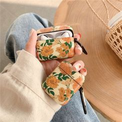 Make Workshop - Floral Print AirPods / Pro Earphone Case Cover
