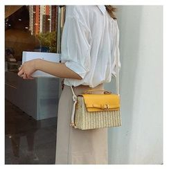 OLGALOG(オルガログ) - Straw  Crossbody Bag
