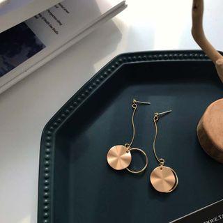 Calypso - 圓碟耳墜 / 夾式耳環