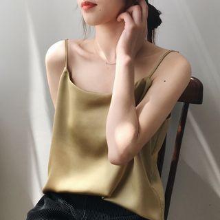 Myrmecia - 純色吊帶背心
