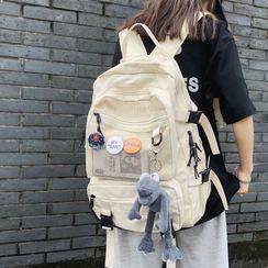 ZOOBAGS - 軍裝電腦背包 / 飾針 / 套裝
