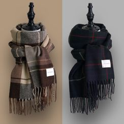 TAAK - Plaid Woolen Scarf