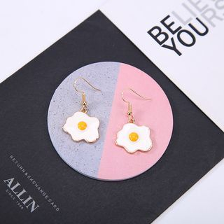 Parapara - Alloy Egg Dangle Earring